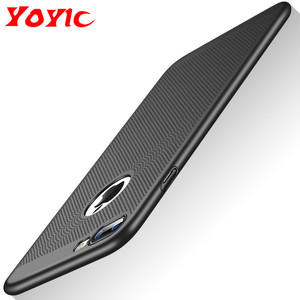 Image 1 - Ultra Slim Phone Case For iPhone 6 6s 7 8 Plus Hollow Heat Dissipation Cases Hard PC For iPhone 5 5S SE Back Cover Coque XS MAX