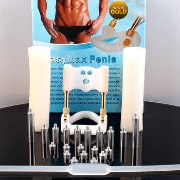 Male Penis Extender Enlargement System Enlarger Stretcher Enhancement with free G-Spot Vibrator,Penis pump Sex Toys Shop
