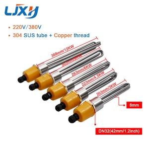 Image 2 - Ljxh DN32 Máy Nước Nóng Làm Nóng Với Interal Hạt 220 V/380 V 304SUS Ống Đầu Ốc Đồng 3KW /4.5KW/6KW/9KW/12KW