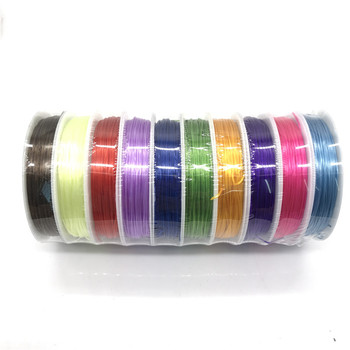 1mm 10 m  roll bead jewelry DIY elastic string fabric woven bracelet necklace pearl yarn in hardware accessories bead