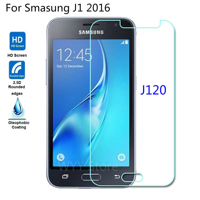 9H Tempered Glass Screen Protector For Samsung Galaxy J1 2016 J 1 J120 J120F J120H SM-J120F/DS DS 0.26MM Premium Protective Film