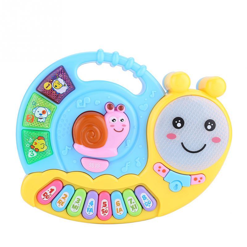 Train Piano Keyboard Developmental Music Baby Kids Musical Educational Animal