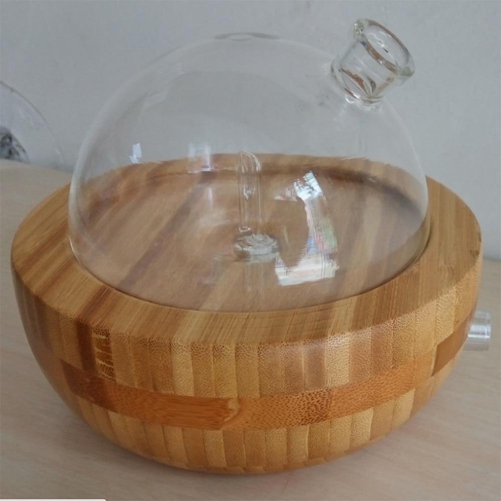 100 240v Bamboo Glass Essential Oil Nebulizer Aromatherapy