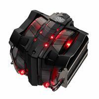 V8GTS 8 Heatpipes CPU Cooler 140mm 4 Pin Fan Albronze CPU Radiator for AMD Cooling PC Fan Black
