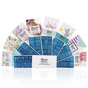 Image 3 - BeautyBigBang XL 01 para estampado de uñas, de acero inoxidable, para esmalte de uñas, carcasa artística, plantilla de imagen de fruta, placas de estampación de uñas
