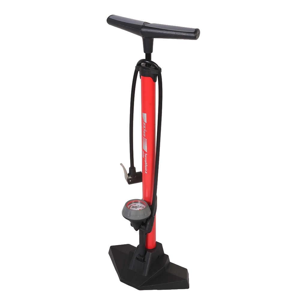 SAHOO велосипедный напольный воздушный насос с 170PSI Манометр высокого давления велосипедный шиномонтажный насос