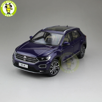 1/18 FAW V W T ROC T ROC Diecast Car Model Toys KIDS Boys Girls Birthday Gift Collection Hobby Blue