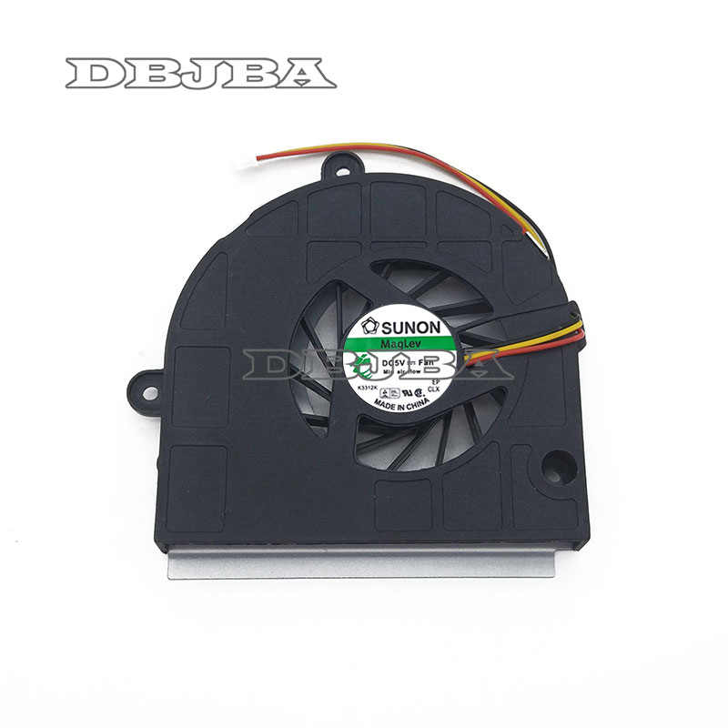 Laptop CPU Koelventilator voor ASUS K43T K43B K53B K53BY K53T A53U X53U X53B CPU cooler fan MF60120V1-C250-G99 3 PIN