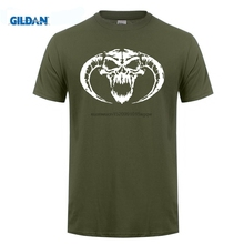 GILDAN  est Mens Funny Masters Classic Hardcore Skull Novelty Cool Tops Men Short Sleeve Tee Shirt