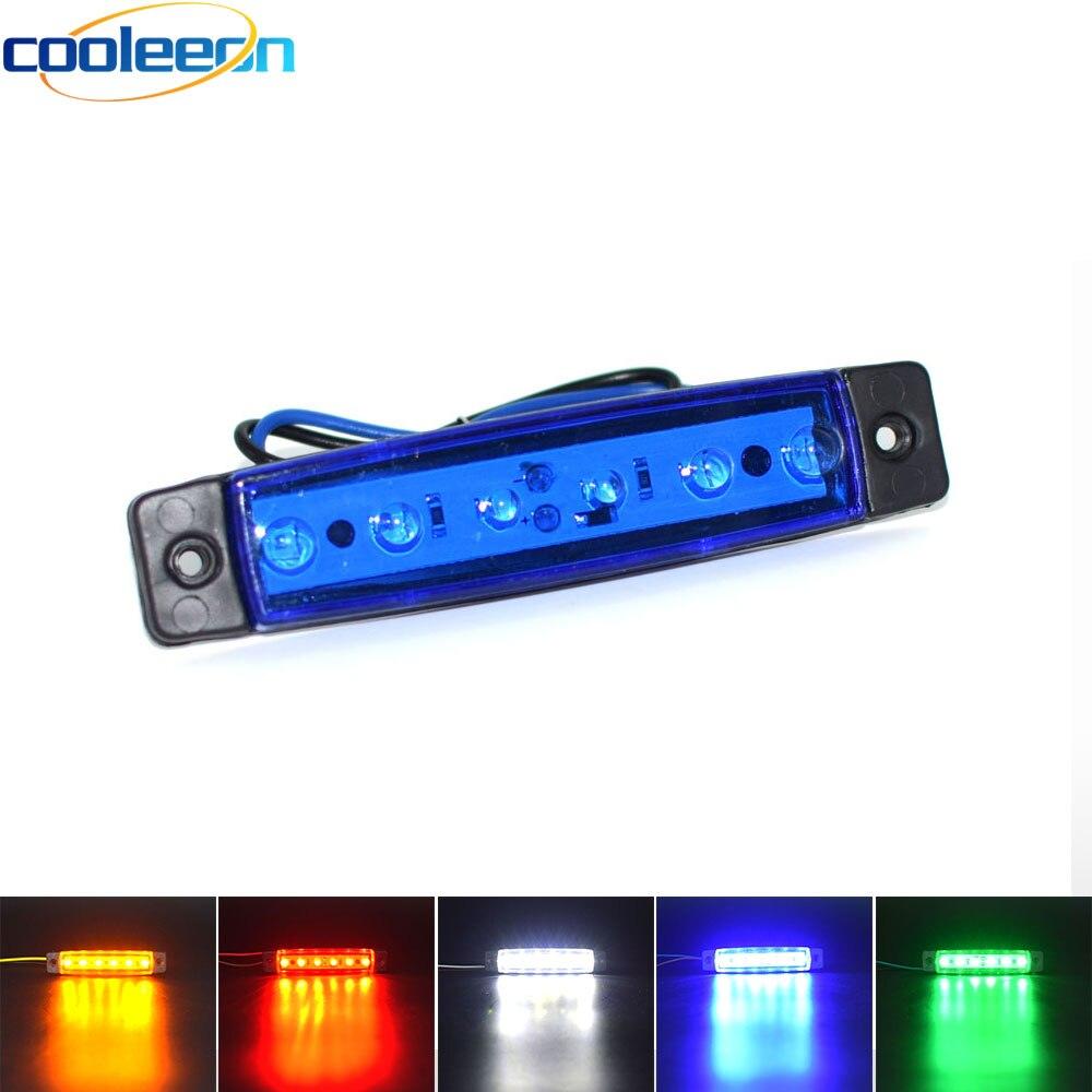 2pcs LED Lights For Truck Decorative Lighting 12V 24V Lorry Cars Signal Lamp LED Strobe Warning Bulb Blue Red Green White Yellow