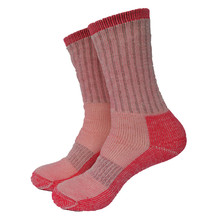 1 пара, 80% мериносовая шерсть, махровые толстые зимние носки для прогулок, походные носки, женские носки