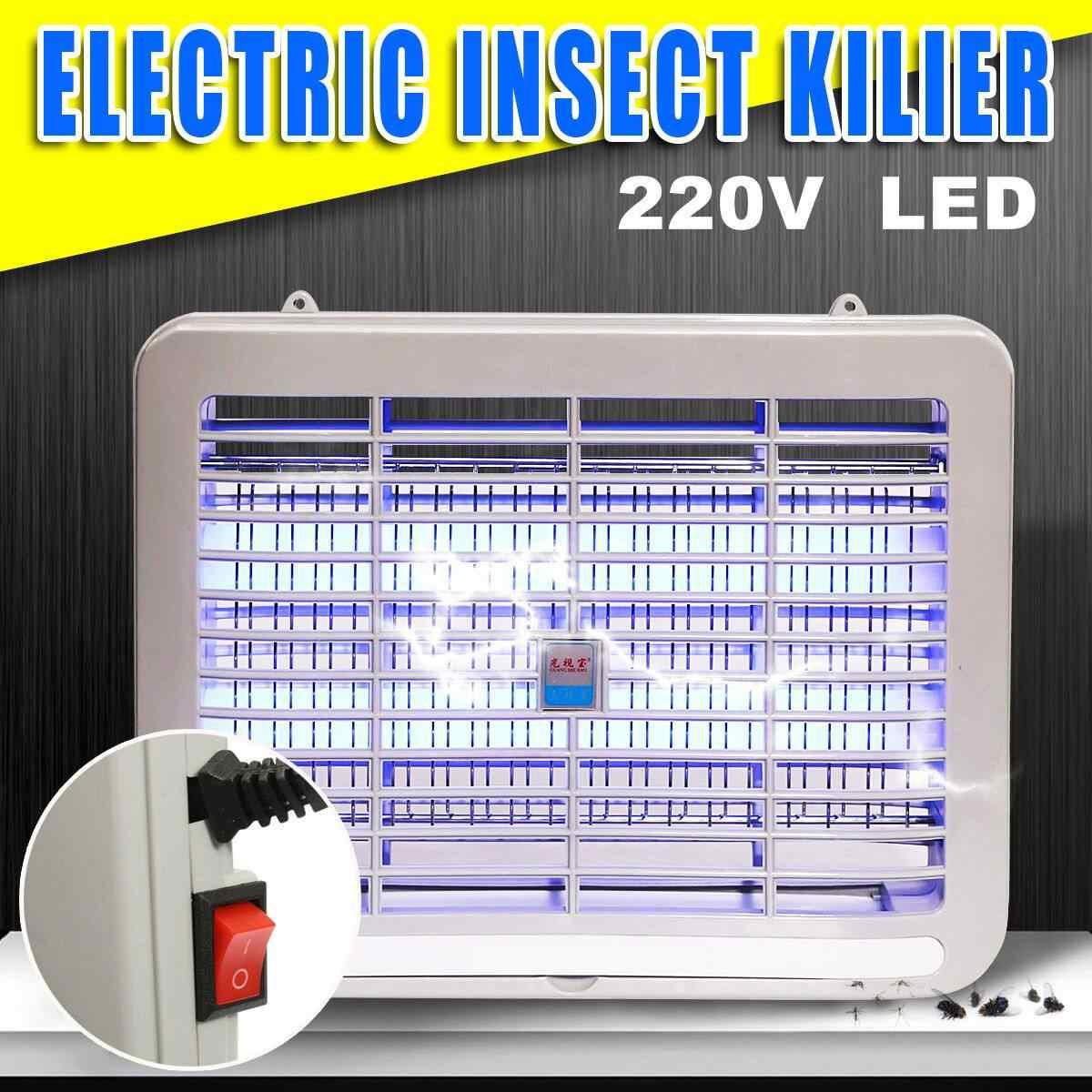 220 В электрическая лампа убийца комаров для дома 2 Вт светодиодный ночник спальни