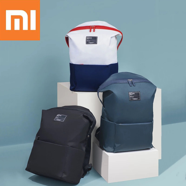 ac649b543e5e Xiaomi 90 Fun Lecture 13.3inch Laptop Backpack 75D Nylon Waterproof Leisure  Shoulder Bag for Outdoor Travel backpack