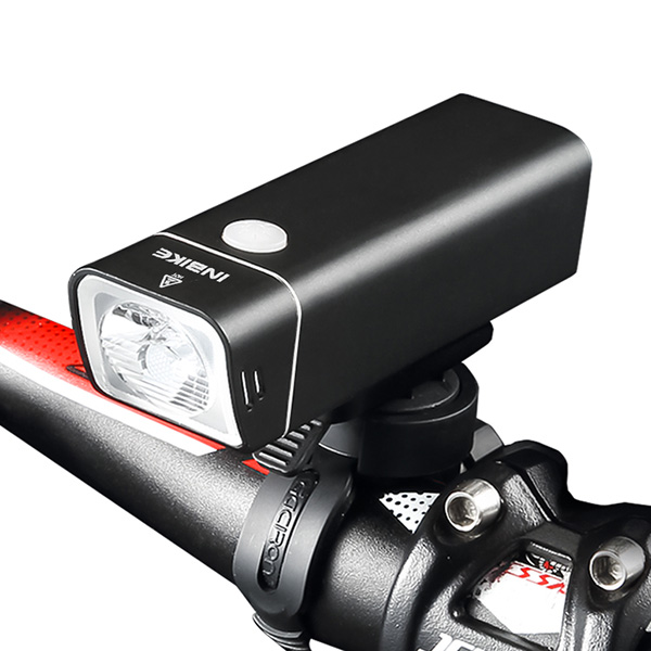 INBIKE Bicycle-Lights Front-Handlebar-Headlight Waterproof Rechargeable Lumens Outdoor