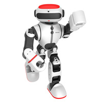 LEORY Smart RC распознавания управление робот гуманоид приложение DIY умный робот голос игрушечные лошадки для Дети Детские подарки США Versio