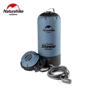 Image 3 - Naturehike bolsas de agua de 11L para baño al aire libre, ducha inflable para exterior, ducha a presión, portátil, herramientas para autos