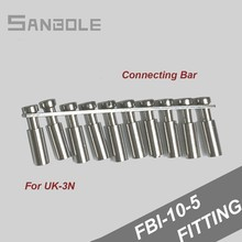 Connection Terminal Parts FBI-10-5 Center Short Connect Bar Block Fixed Bridge 10Position for UK-3N (10pcs)