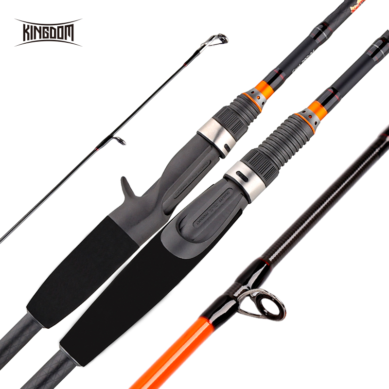 Kingdom Keel II Carbon Spinning Casting Fishing Rods with FUJI Gudie Ring and Wheel Seat ML/M/MH Fast Action Travel Rod for BassKingdom Keel II Carbon Spinning Casting Fishing Rods with FUJI Gudie Ring and Wheel Seat ML/M/MH Fast Action Travel Rod for Bass
