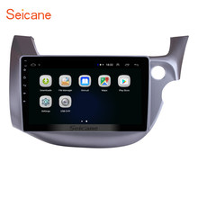 "Seicane Android 8.1 10.1"" for HONDA FIT JAZZ 2007-2013 Right Hand Drive Car Head Unit Player 2 Din GPS Navigation Radio WiFi 3G(China)"