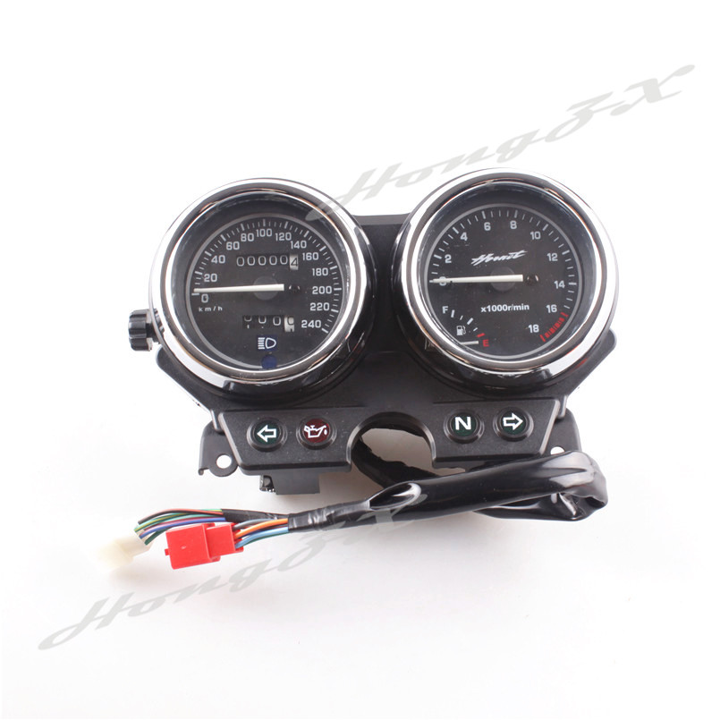 For Honda Hornet 600 1998 1999 2000 Motorcycle Gauges Speedometer Tachometer Instrument By High Quality ABS Plastic
