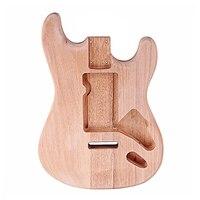 ST Mahogany Electric Guitar Body DIY Accessory Maple Mahogany body Guitar Body For ST Style Guitar