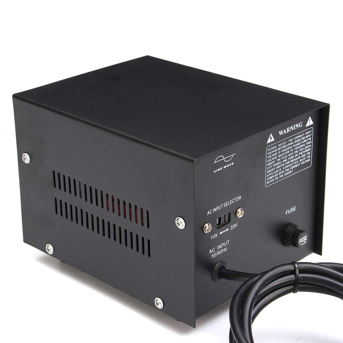 500/1000/2000/3000/5000 W convertisseur de tension lourde transformateur de puissance 220 V auf 110 V convertisseur - 5