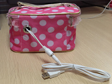 Personal Portable Electric Oven Lunch Box Car USB Power Mini Hot Food Tote Picnic Camping