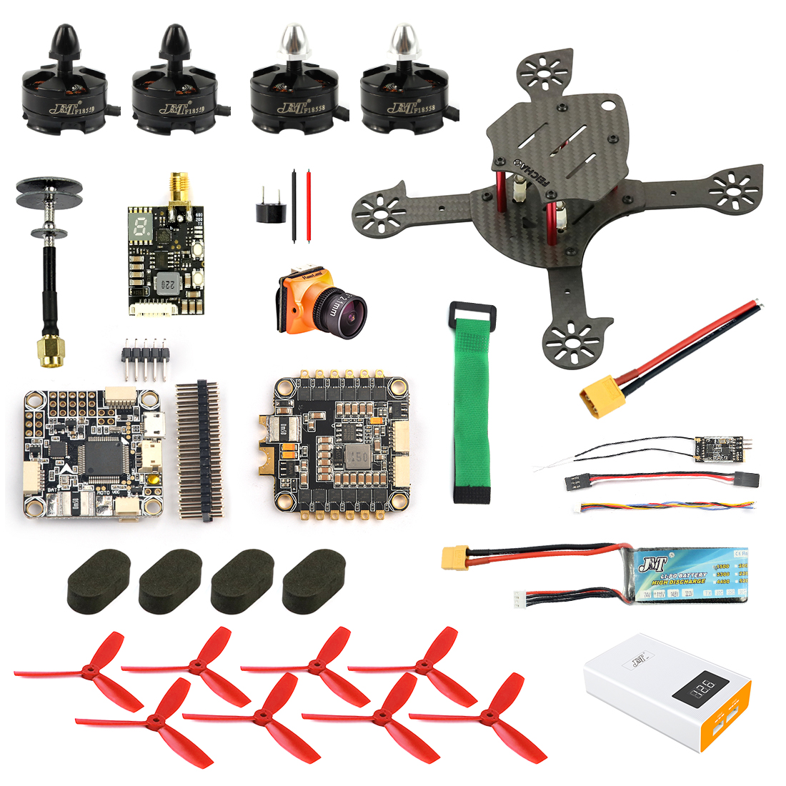 JMT DIY FPV Racer Drone Quadcopter F4 Pro V2 Flight Control