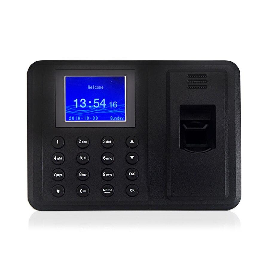 טביעות אצבע ביומטרי זמן נוכחות מכונה משרד זמן מקליט HR ניהול עובדים C900U טביעות אצבע סורק האיחוד האירופי Plug
