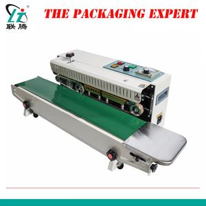 Automatic Continuous Pouch Film Impulse Sealer Heat Plastic Auto Successive Bag Sealing Machine Shrink Packing Free Shipping