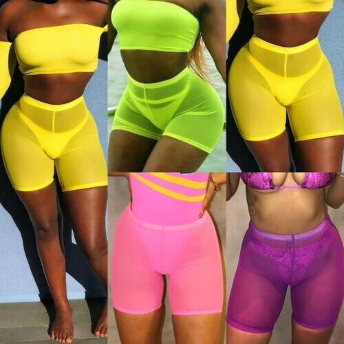 Женские спортивные повседневные пляжные шорты для йоги с высокой талией, шорты для йоги, шорты для волейбола
