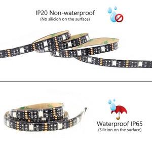 Image 2 - LED Strip Battery Powered 5050 RGB 2835 Warm Cool White 1M 2M 3M 4M 5M 5V 6V Battery Operated LED Tape Ribbon Lights Waterproof