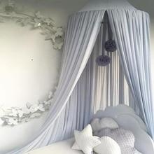 Elgant, навес, москитная сетка, навес для кровати, шифон, Игровая палатка, постельные принадлежности для детей, для игр, чтения, купольная сетка для малышей, 4 цвета