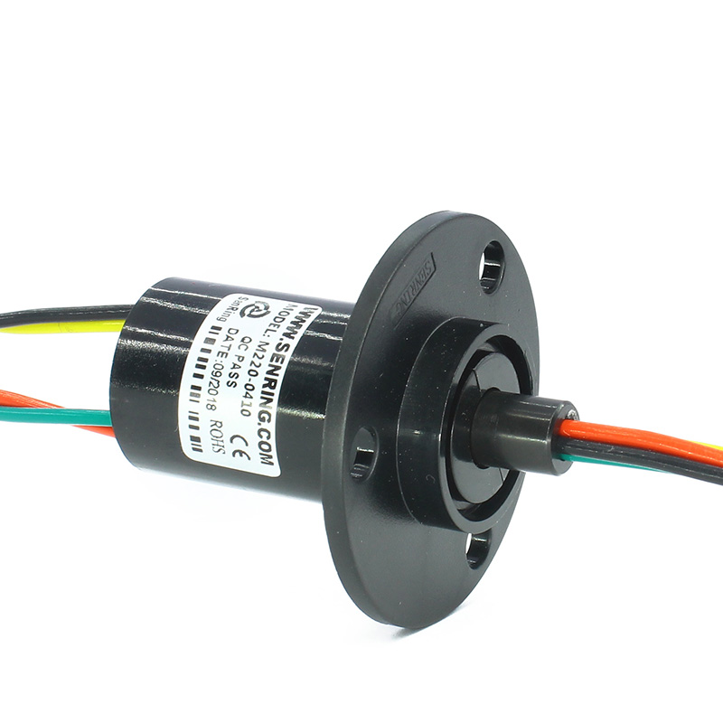 Wind Power Slip Ring 4 Circuits 10A Conductive Slipring Collecting Ring Spare Parts Diameter 22mm
