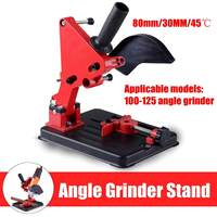 Universal Grinder Accessories Angle Grinder Holder Woodworking Tool DIY Cut Stand Grinder Support Dremel Power Tools Accessories