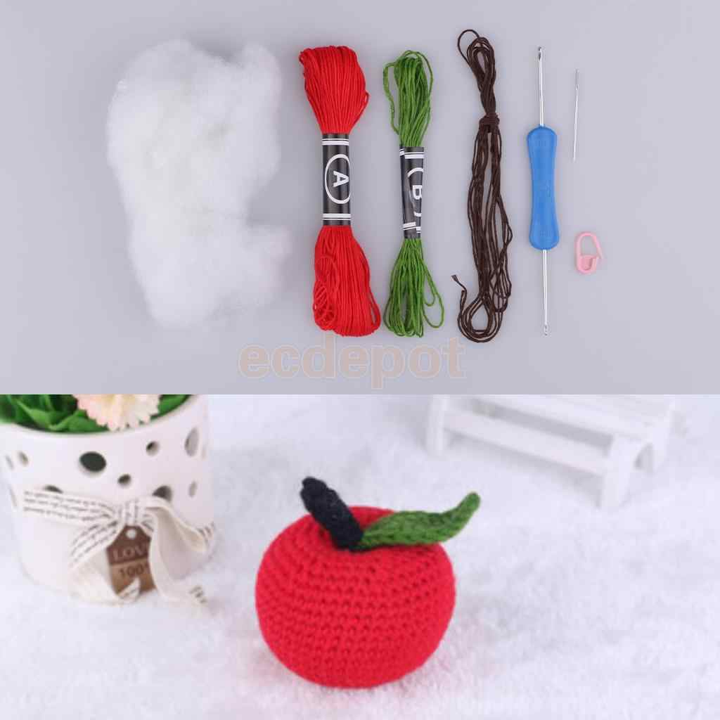 Fistyle ручной работы DIY кукла игрушка набор для вязания крючком Amigurumi набор для детей начинающих ремесла Одежда швейные инструменты и аксессуары