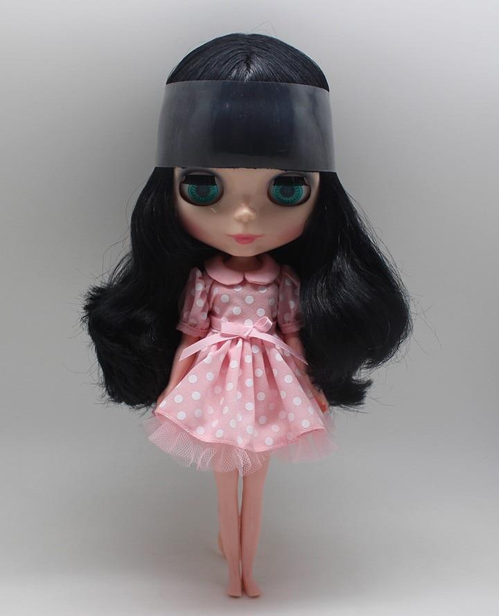 Neo Blythe Doll Polka Dot Princess Dress 7