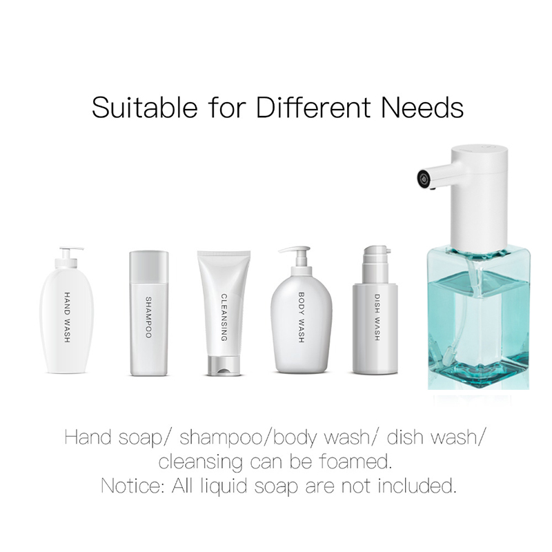 cheapest Lebath Infrared Sensor Automatic Soap Dispenser Handheld Contactless Disinfectant Bathroom Dispenser Smart Rechargeable Washer