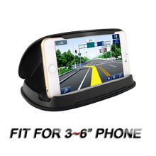 Car Anti-Slip Mobile Phone Holder for Automobile Central Con