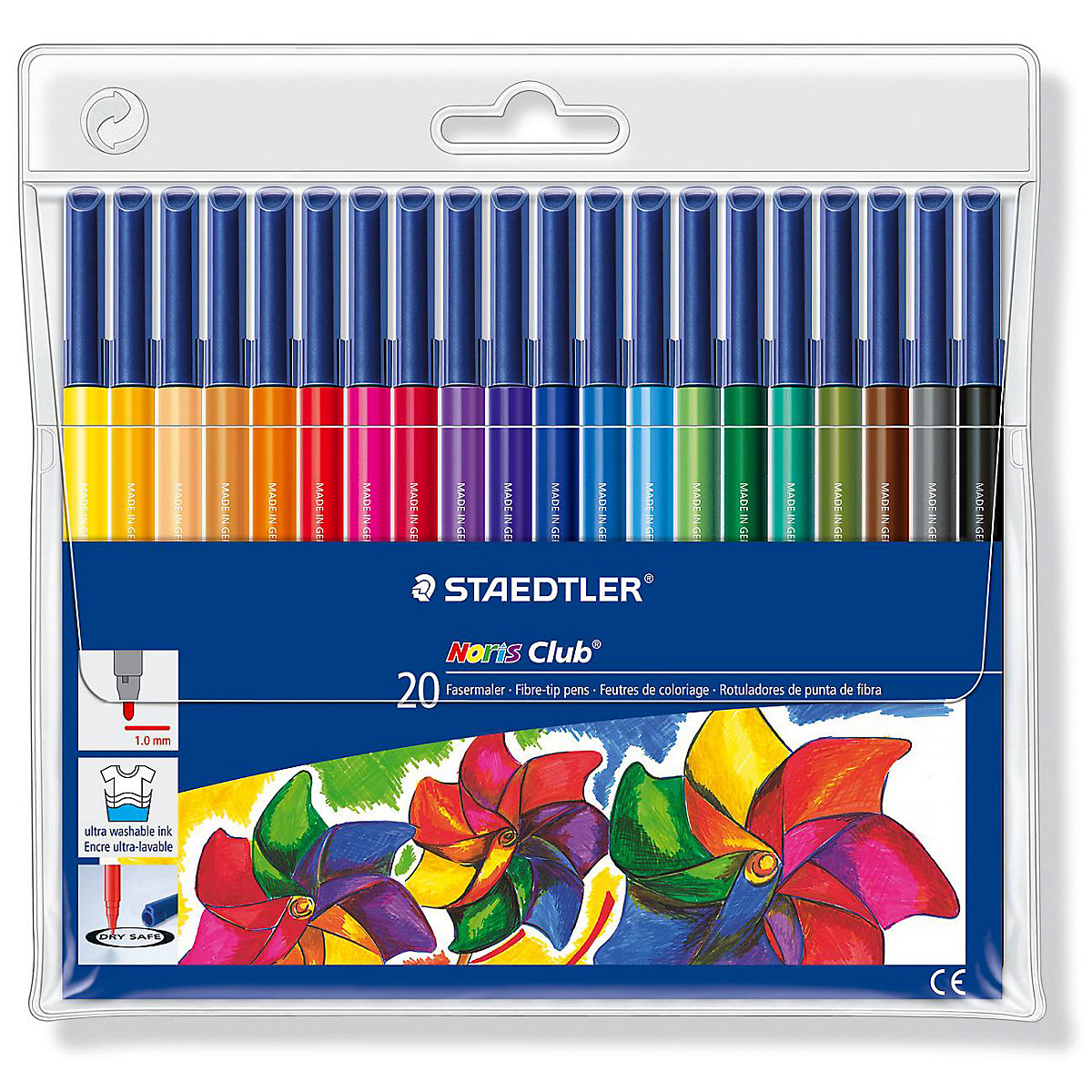 STAEDTLER Art Markers 2031254 childrens creativity goods for needlework marker superior 12 colors set artist soft dual watercolor brush sketch markers water based ink twin tip marker pen for drawing manga