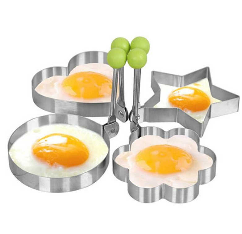 Stainless Steel BBQ Fried Egg Shaper Pancake Mould Mold Kitchen Cooking Tools