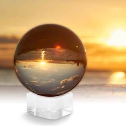 Crystal Sphere Ball with Stands 50/80mm 2