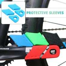 Universal Bicycle Silicone Crank Arm Boots Protectors Bike M