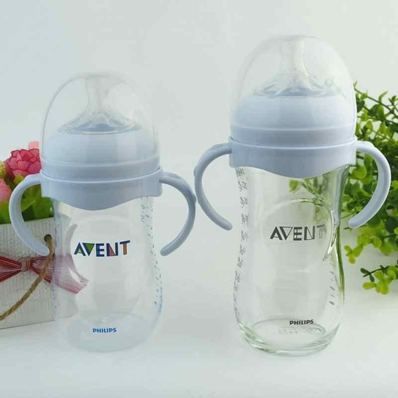 2019 новая ручка для бутылочек Avent из натурального полипропиленового стекла с широким горлышком, аксессуары для детских бутылочек, 1 шт., бесплатная доставка