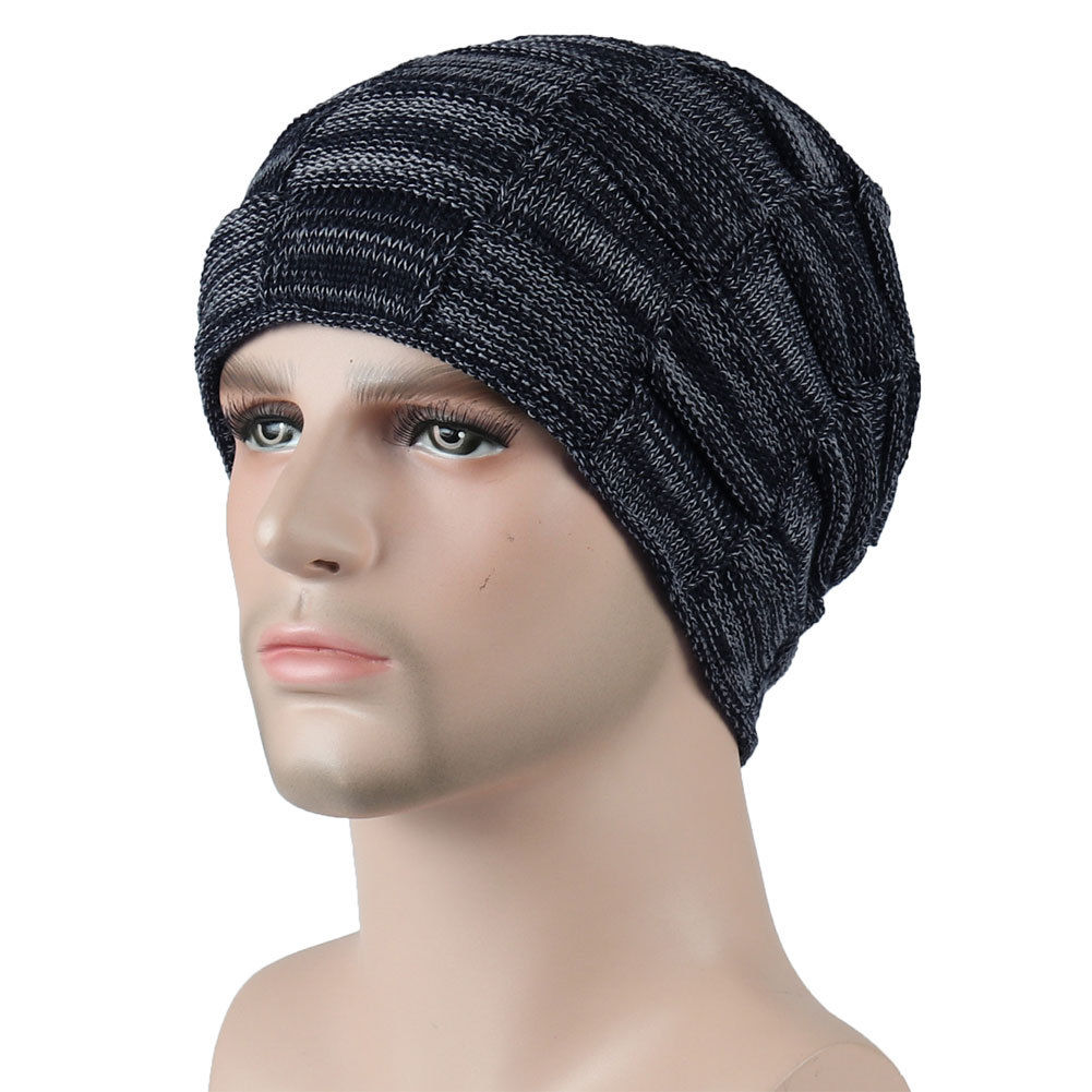 2018 New Style Fashion Men's Ladies Knitted Woolly Winter Oversize Slouch Beanie Hat Cap Skateboard Hat