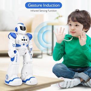Image 3 - Robot photo pour enfants, télécommande, Smart Robot Action Walk, chanter, Action de danse, capteur de geste, jouets Robot pour enfants, offre spéciale de cadeau danniversaire