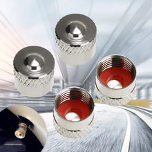 For BMW Car Accessories 4pcs Druable Copper Wheel Valve Dust Caps 9MM High Quality F Cap Covers Mayitr