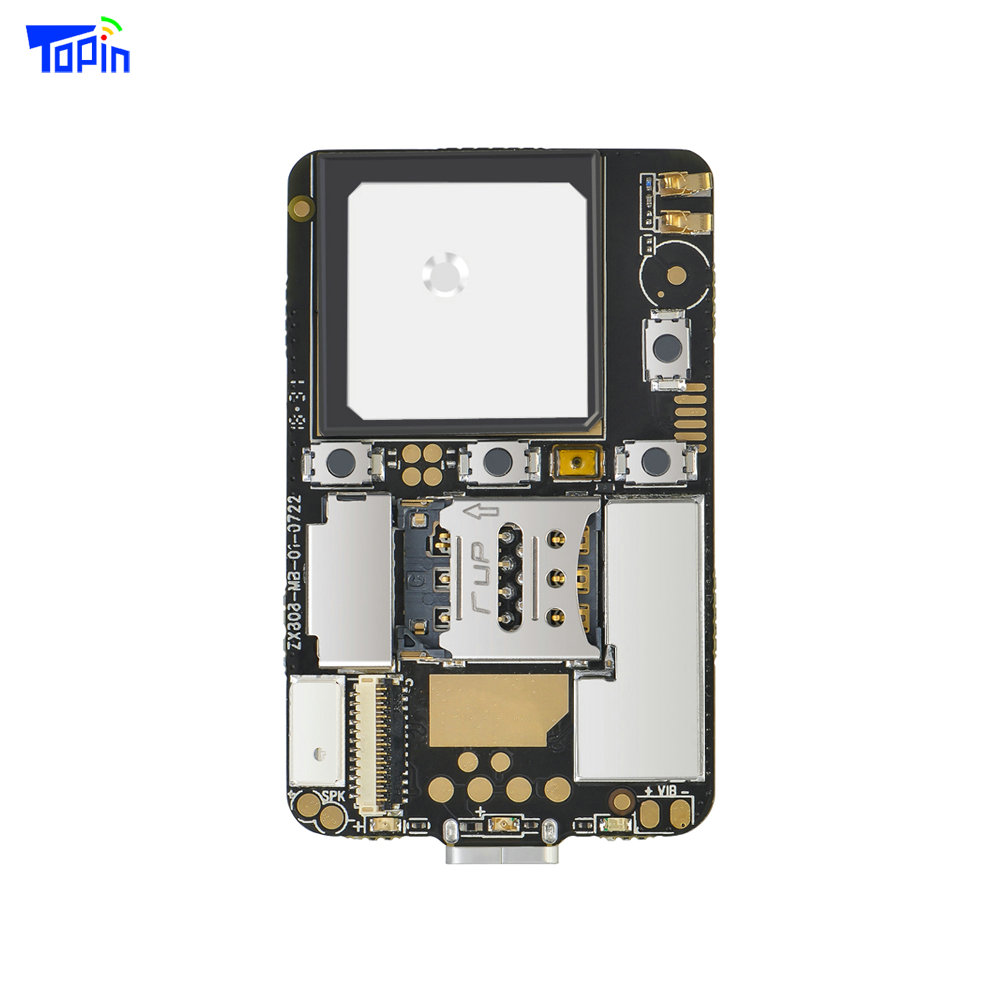 ZX808 3G GPS Tracker PCBA Module 2G GSM + 3G WCDMA GPS Tracking Chip M6580 SOS I/O Port Wifi Bluetooth Programmable Android iOS|GPS Trackers| |  - title=
