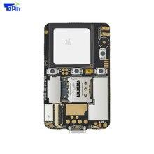 ZX808, Module PCBA 3G, Module PCBA, 2G GSM + 3G WCDMA, puce de suivi GPS M6580, Port SOS I/O, wi fi, Bluetooth, Programmable pour Android et iOS
