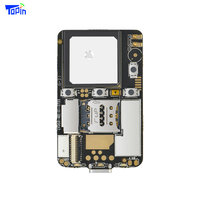 ZX808 3G GPS Tracker PCBA Module 2G GSM + 3G WCDMA GPS Tracking Chip M6580 SOS I/O Port Wifi Bluetooth Programmable Android iOS